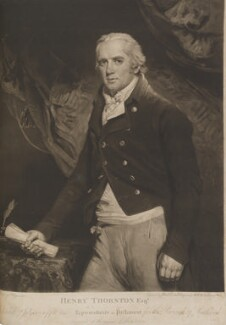 Henry Thornton, by James Ward, after  John Hoppner, 1802 - NPG D14768 - © National Portrait Gallery, London
