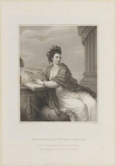 Margaret Bingham (née Smith), Countess of Lucan, by Samuel Freeman, published by  Thomas Frognall Dibdin, after  Robert William Satchwell, after  Angelica Kauffmann - NPG D14775