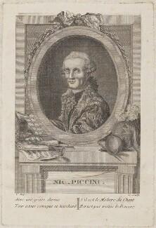 Nicolas Piccini, by Unknown engraver - NPG D14779