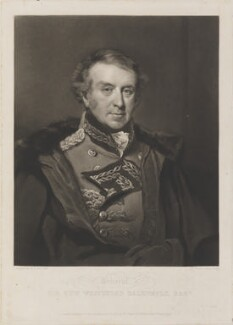 Sir Hew Whitefoord Dalrymple, Bt, by and published by Charles Turner, after  John Jackson - NPG D14781