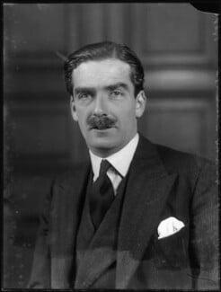 Anthony Eden, 1st Earl of Avon, by Bassano Ltd, 17 November 1931 - NPG x81171 - © National Portrait Gallery, London