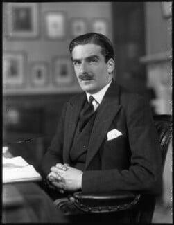 Anthony Eden, 1st Earl of Avon, by Bassano Ltd, 17 November 1931 - NPG x81173 - © National Portrait Gallery, London