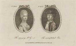 'The engaging Mrs G-r and The accomplished Peer', published by Archibald Hamilton Jr - NPG D14789