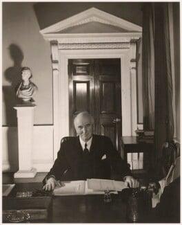 John Allsebrook Simon, 1st Viscount Simon, by Cecil Beaton - NPG x14207