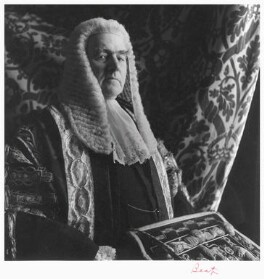 Gavin Turnbull Simonds, Viscount Simonds, by Cecil Beaton - NPG x14206