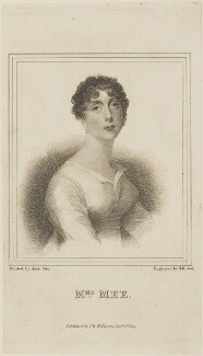 Anne Mee (née Foldsone), by Henry Richard Cook, published by  I.W.H. Payne, after  Anne Mee (née Foldsone) - NPG D14792
