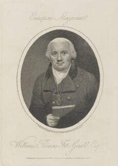 William Thomas Fitzgerald, by William Ridley, published by  James Asperne, after  Samuel Drummond - NPG D14794