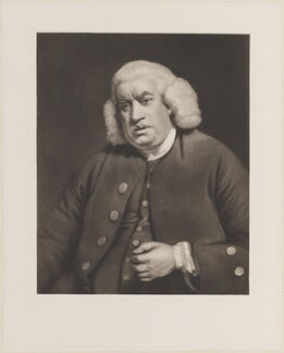 Samuel Johnson, after Sir Joshua Reynolds - NPG D14796