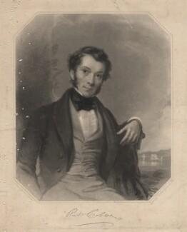 Richard Cobden, by Frederick Christian Lewis Sr, after  Charles Allen Duval - NPG D18092