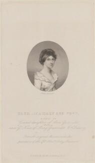 Georgina Mary Ann Waddington (née Port), by Joseph Brown, published by  Richard Bentley - NPG D14802