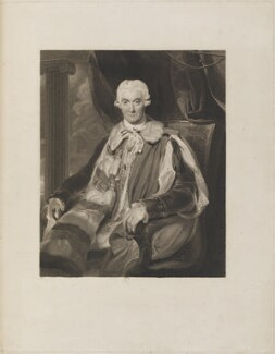 Thomas Thynne, 1st Marquess of Bath, by James Heath, after  Sir Thomas Lawrence - NPG D14804