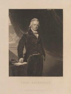 John Abernethy, published by Henry Palser, after  Sir Thomas Lawrence - NPG D14809