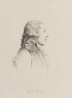 William Hamilton, by William Daniell, after  George Dance - NPG D14818