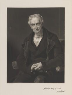 George Lock, by John Richardson Jackson, after  John Prescott Knight - NPG D14820
