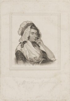 Ann Yearsley, by Henry Richard Cook, published by  I.W.H. Payne, after  Sarah Shiells - NPG D14829