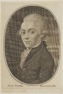 Jean Pierre François Blanchard, published by John Sewell - NPG D14830