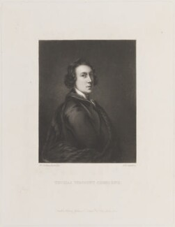 Thomas Dawson, 1st Viscount Cremorne, by Arthur N. Sanders, published by  Henry Graves, after  Sir Joshua Reynolds - NPG D14846