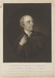 William Gilpin, by and published by George Clint, after  Henry Walton - NPG D14849