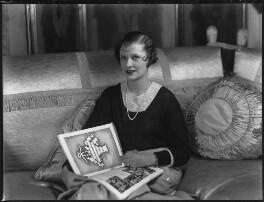 Lady Anne Maud Rhys (née Wellesley), by Bassano Ltd - NPG x34432