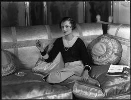 Lady Anne Maud Rhys (née Wellesley), by Bassano Ltd - NPG x34433