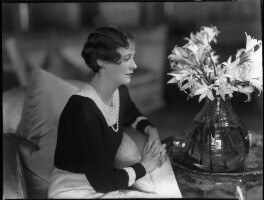 Lady Anne Maud Rhys (née Wellesley), by Bassano Ltd - NPG x34435