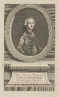 Prince Charles (Karl) II, Grand Duke of Mecklenburg-Strelitz, by Unknown artist - NPG D14864