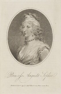 Princess Augusta Sophia, published by Messrs Robinsons - NPG D14871