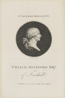 William (Thomas) Beckford, by J. Singleton, published by  John Sewell, after  P. Sauvage - NPG D14872