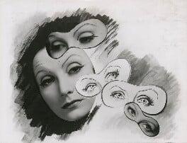 Greta Garbo, by Cecil Beaton - NPG x40156