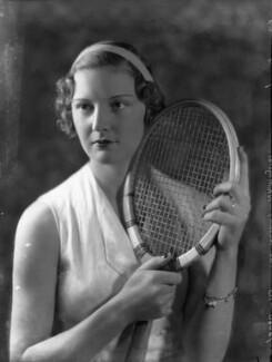 Eileen Vivian Bennett (later Mrs Fearnley-Whittingstall), by Bassano Ltd - NPG x34413