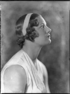 Eileen Vivian Bennett (later Mrs Fearnley-Whittingstall), by Bassano Ltd - NPG x81200