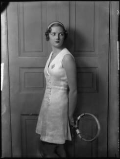 Eileen Vivian Bennett (later Mrs Fearnley-Whittingstall), by Bassano Ltd - NPG x34414