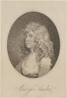 Princess Amelia, published by Messrs Robinsons - NPG D14880