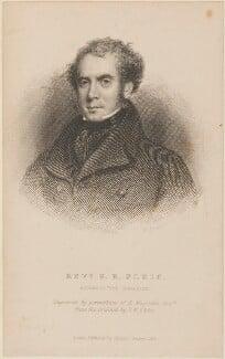 George Robert Gleig, by William Greatbach, published by  Richard Bentley, after  Eden Upton Eddis - NPG D14887