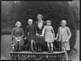 The Douglas-Scott-Montagu family, by Bassano Ltd - NPG x75310