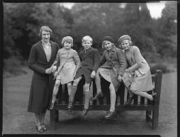 The Douglas-Scott-Montagu family, by Bassano Ltd - NPG x75311