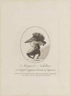 Margaret Nicholson, published by Jonathan Fiske - NPG D14897