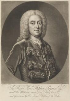 Stephen Poyntz, by John Faber Jr, after  John Fayram - NPG D14898