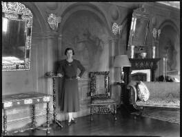 Anne Sackville-West (née Meredith), Lady Sackville, by Bassano Ltd - NPG x34424