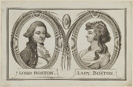 Frederick Irby, 2nd Baron Boston; Christian Irby (née Methuen), Lady Boston, by Unknown artist - NPG D14906