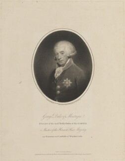 George Brudenell Montagu, Duke of Montagu, by and published by Joseph Collyer the Younger, after  Sir William Beechey, published 1 March 1793 - NPG D14907 - © National Portrait Gallery, London
