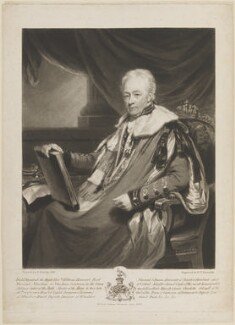 William Harcourt, 3rd Earl Harcourt, by and published by Samuel William Reynolds, after  Henry Edridge, published June 1822 (1818) - NPG D14914 - © National Portrait Gallery, London