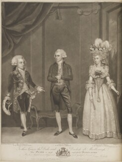 'Marlborough Theatricals', by and published by John Jones, published by and after  James Roberts - NPG D14918