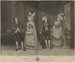 'Marlborough Theatricals', by and published by John Jones, published by and after  James Roberts - NPG D14919