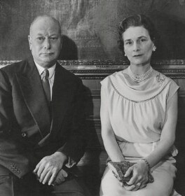 Prince Henry, Duke of Gloucester; Princess Alice, Duchess of Gloucester, by Cecil Beaton - NPG x35197