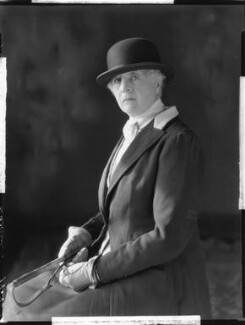 Elsie Margaret Clayton (née Ames), by Bassano Ltd - NPG x80969