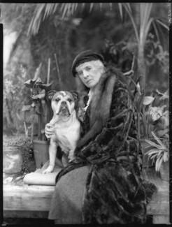Elsie Margaret Clayton (née Ames), by Bassano Ltd - NPG x80970