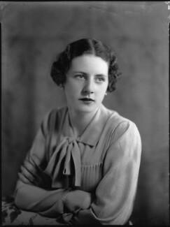Mary Gwendoline (née Foster), Lady Forwood, by Bassano Ltd - NPG x34430
