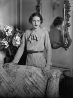 Mary Gwendoline (née Foster), Lady Forwood, by Bassano Ltd - NPG x34679