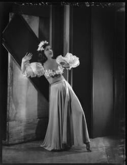 Kyra Alanova, by Bassano Ltd, 19 July 1935 - NPG x34452 - © National Portrait Gallery, London